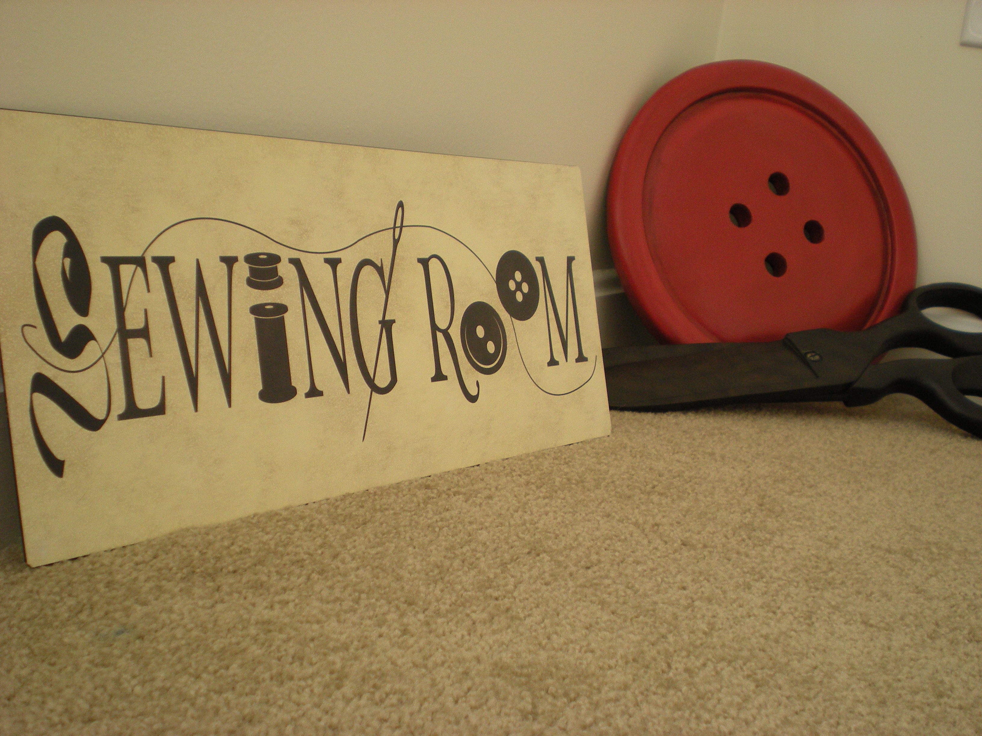 Sewing Room Signs